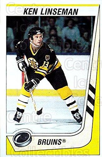 (CI) Ken Linseman Hockey Card 1989-90 Panini Stickers 190 Ken Linseman