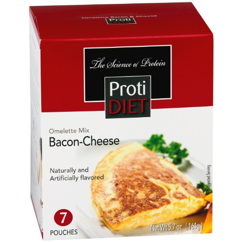 Protidiet Omelette Mix-bacon Cheese 5.7 Oz. (7 Servings)