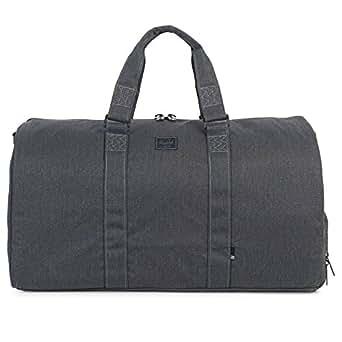 Herschel Supply Co. Men's Canvas Novel Duffel Bag, Black, One Size