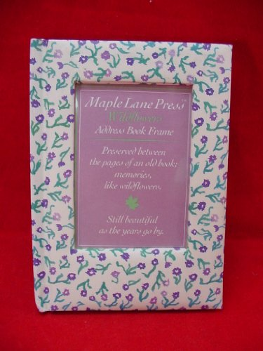 Telephone Address Book FRAME - (VIOLETS)