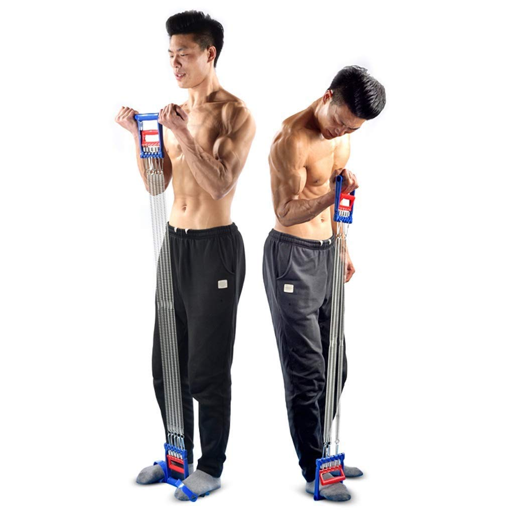 Multifunction Exercise Muscle Training Chest Expander Adjustable 6 Tubes Portable Tension Trainer Suitable For Indoor Activities Sit-ups