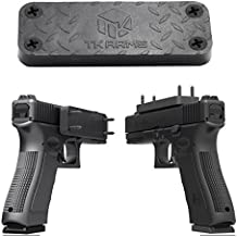 TKARMS Magnetic Gun Mount & Holster for Car Truck Vehicle and Home - Premium Quality Rubber Coated 44 Lbs Rated - Firearm Accessory - Concealed Holder For Handgun, Rifle, Shotgun, Pistol, Revolver