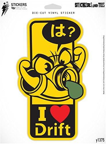 """Seguir su curso # 3 Decal Sticker Jdm Gracioso Vinilo coche ventana de parachoques Pared Camión 7 /"""""""