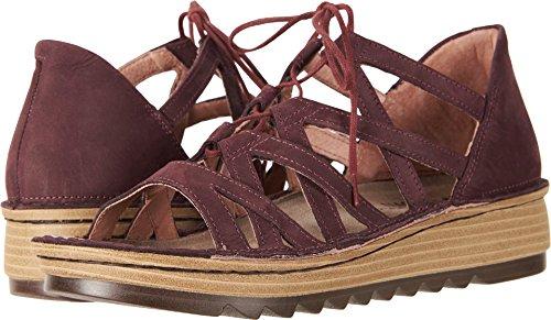 Violet Naot Low Yarrow Sandals Heel Nubuck Women's XBZaqq