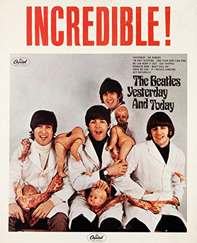 beatles butcher poster - 1