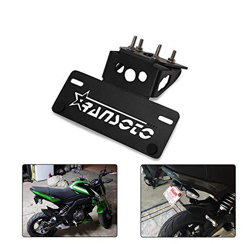 RANSOTO Motorsports Fender Eliminator Kit Compatible for Kawasaki Z125 Z 125 2015 2016 2017 2018 (Black)