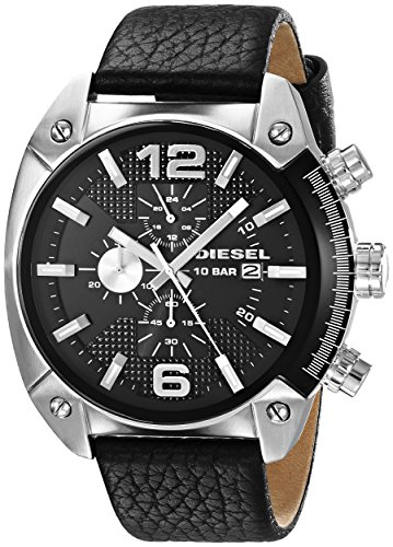 diesel-mens-dz4341-overflow-stainless-steel-black-leather-watch
