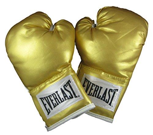 Everlast Boxing Wrist Wrap Level 1 Training Gloves, 12oz, Gold