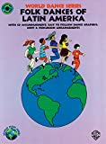 img - for Folk Dances of Latin America: Book & CD (World Dance Series) book / textbook / text book