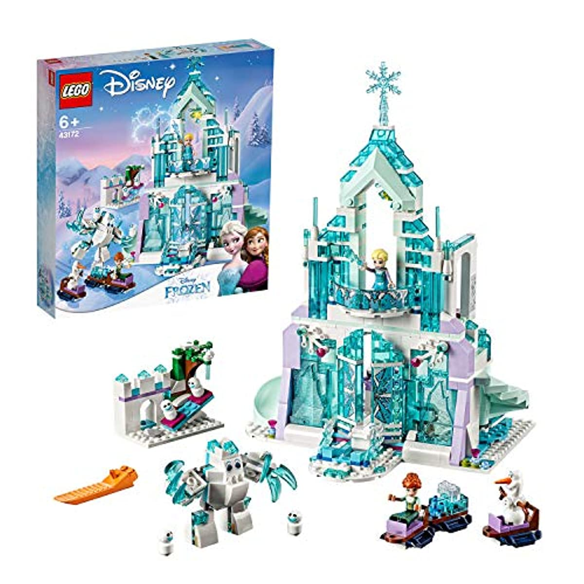 """[해외] 레고(LEGO) 디즈니 프린세스 겨울왕국 """"아이스 캐슬환퍼터지"""" 43172"""