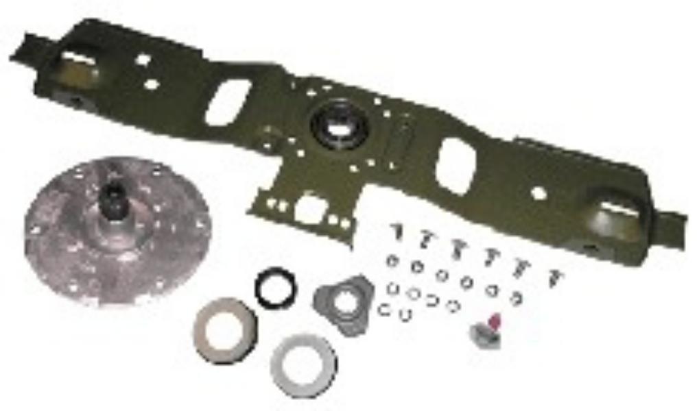 Porta rodamientos lavadora Brandt MALICE 55x2983 + 55x2985 + ...