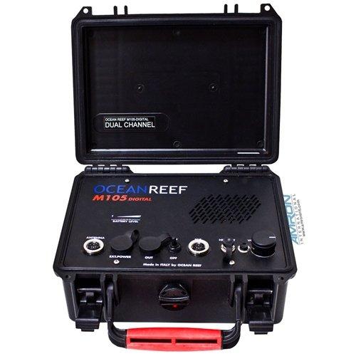 Ocean Reef M-105 Digital DC Transceiver Surface Unit W/battery (Comm Transceiver)