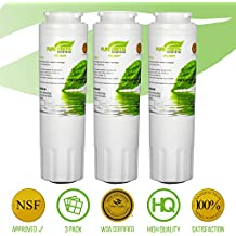 Maytag UKF8001 Filter Refrigerator Water Filters Compatible Replacement Cartridges | NSF CERTIFIED Lead Free, | Amana, Kenmore, Jenn-Air, Whirlpool, Kitchenaid, Puriclean II, PUR | 3 Pack by PureGreen