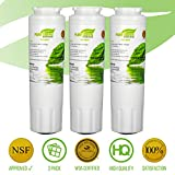 Pure Green Water Filter PG-8001 NSF Certified | Maytag UKF8001 Refrigerator, Lead Free | 3 Pack, 3 Count