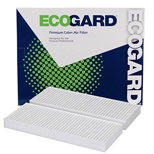 ECOGARD XC25764 Premium Cabin Air Filter Fits Nissan Frontier, Pathfinder, Xterra, NV2500, NV1500, NV3500 / Suzuki Equator ()