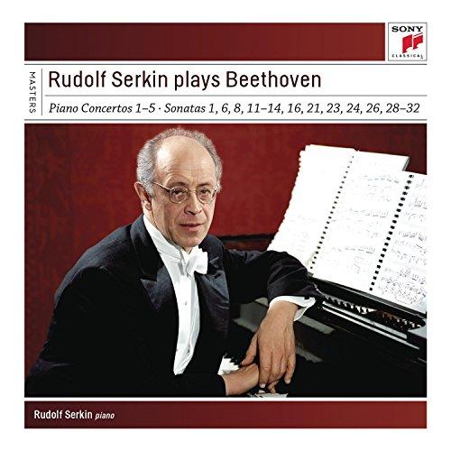 Beethoven - Rudolf Serkin Plays Beethoven Concer Tos, Sonatas & Variations - Zortam Music