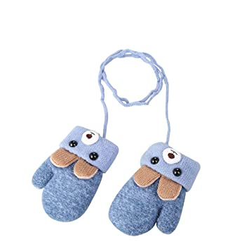 KDSANSO Guantes de Invierno para niños con diseño de Oso de ...
