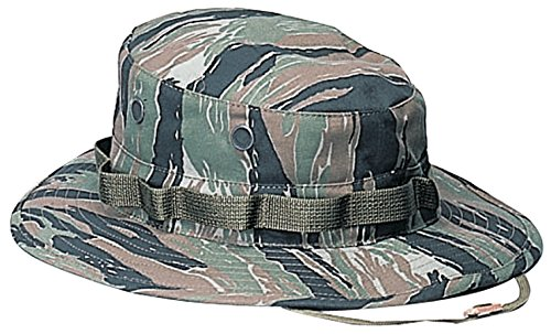 (Rothco Boonie Hat, Tiger Stripe Camo - (7.25) Inch)