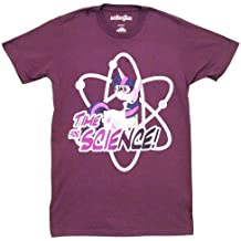 My Little Pony Time For Science Adult Purple T-Shirt