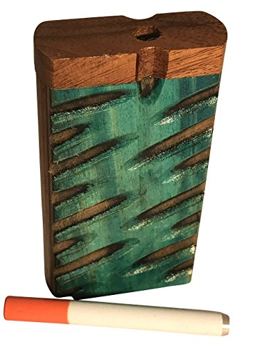 D18 NEW HANDCRAFTED HANDMADE 4 WOOD BOX WITH EXTRAS~SEE OUR OTHER ITEMS ALSO