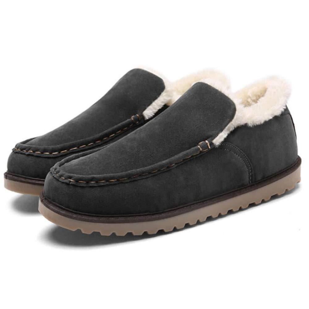 LIJUN Winter Schuhe Herren Anti Slip Gefüttert Warme Baumwolle Winterschuhe Größe: 38-43