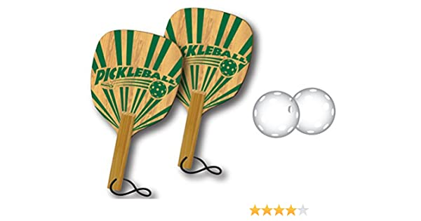 Amazon.com : Halex Pickleball Select 2 Player Set (2 Paddles/2 Balls) : Sports & Outdoors