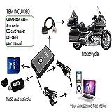 XMT-MOTO Digital Music CD MP3 Changer Player Media For Honda GL1800 2001 2002 2003 2004 2005 2006 2007 2008 2009 2010 2011
