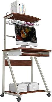 Jiaz Estante Mesa para computadora portátil Madera Escritorios ...