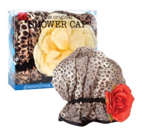 DCI Animal Print Glam Shower Cap - Glam Cap