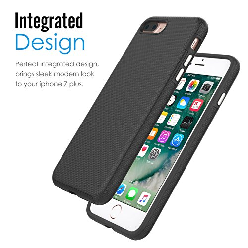 newest 42431 f738b For iPhone 8 Plus Case / iPhone 7 Plus Case, MoKo Shockproof ...