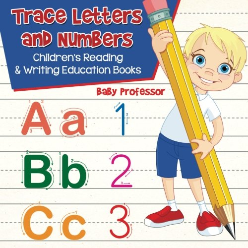Trace Letters Numbers Childrens Education