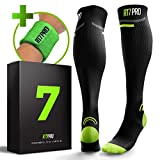 Hiking Socks – Pro Compression Socks for Women & Men – Cushion Knee High Socks for Camping, Trail, Mountain Biking, Trekking, Climbing – Performance Outdoor Sport – Boosts Circulation & Recovery Review