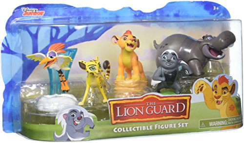 (Disney Lion Guard Figures (5)