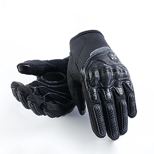 Every Moment Winter Cycling Gloves,Every Monment Waterproof Touch Screen Windproof Cycling motorcycle Sports Warm Gloves for Man and Women (Black, L)