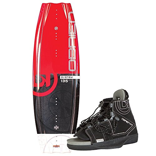 O'Brien System Wakeboard with Clutch 8-11 Bindings, 135cm