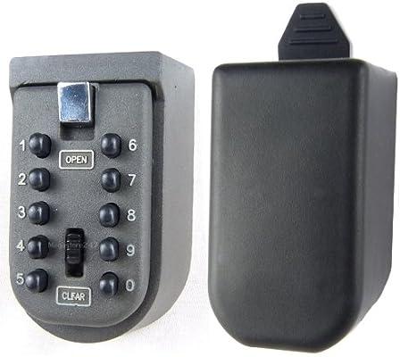 Keysafe Hyfive montado en la pared de seguridad | Clave exterior ...