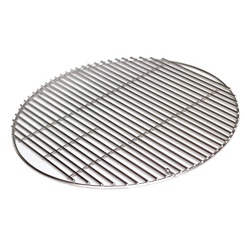 Aura Outdoor Products AOP-18SS Stainless Steel Cooking Grate Large Big Green Egg, Kamado Joe