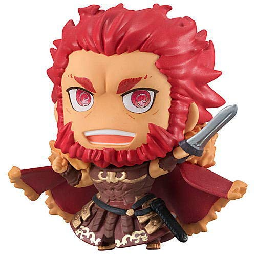 Fate Grand Order Petit Chara! Chimi Iskandar Rider Character Mini Figure Vol.2 Swirly Eye Ver. Collection Anime Art from Megahouse