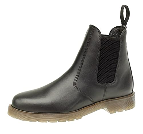 Grafters Leather Chelsea Dealer Boots. Air Cushion Soles. BI_3381
