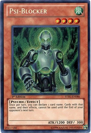 Yu-Gi-Oh! - Psi-Blocker (STBL-EN086) - Starstrike Blast - 1st Edition - Secret Rare B004DE09VE