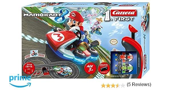 Carrera Slot 1:43 Super Mario Kart 8, (20063005): Amazon.es: Juguetes y juegos