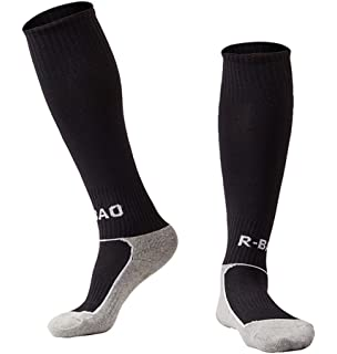 9f4964b05 1   5 Pack Kids Football Socks Knee High Tube Socks Towel Bottom Pressure  Sports Soccer