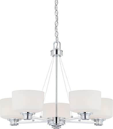Nuvo Lighting 60 4585 Five Light Chandelier Chrome