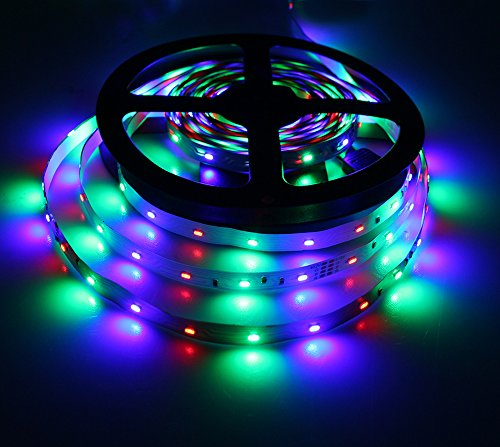 Waterproof 5M 3014 LED Strip RGB 12VDC - 5
