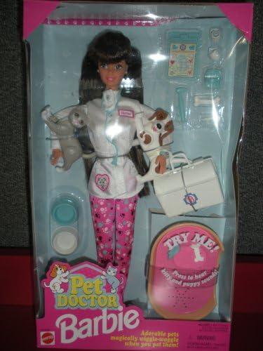 Amazon.es: Barbie Pet Doctor Doll Brunette: Juguetes y juegos