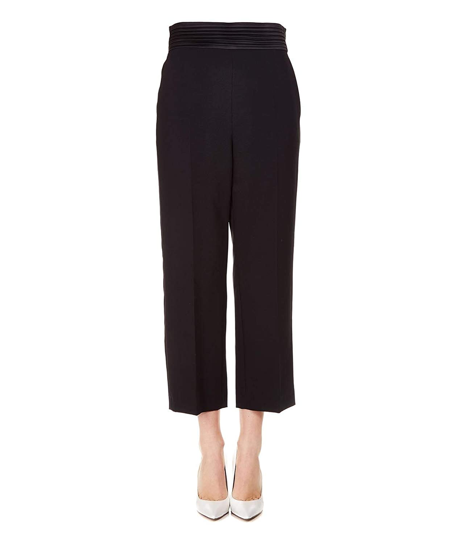 Liu Jo Women's I19166T789622222 Black Polyester Pants