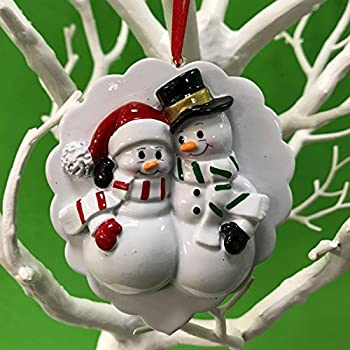 Finest Amazon.com: A Pregnant Couple Personalized Christmas Ornament  UI54