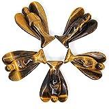 Natural Golden Tiger Eye Carved Gemstone Peace