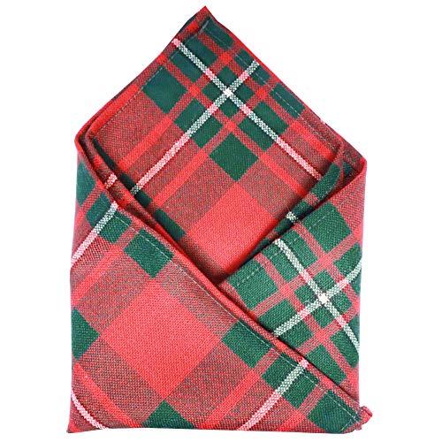 Ingles Buchan Mens Scottish Tartan Pocket Square MacGregor