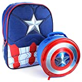 Marvel Comics 16 inch Backpack and Lunch Box Set